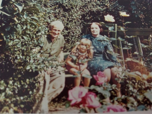 Me aged 4 with G & G (2)